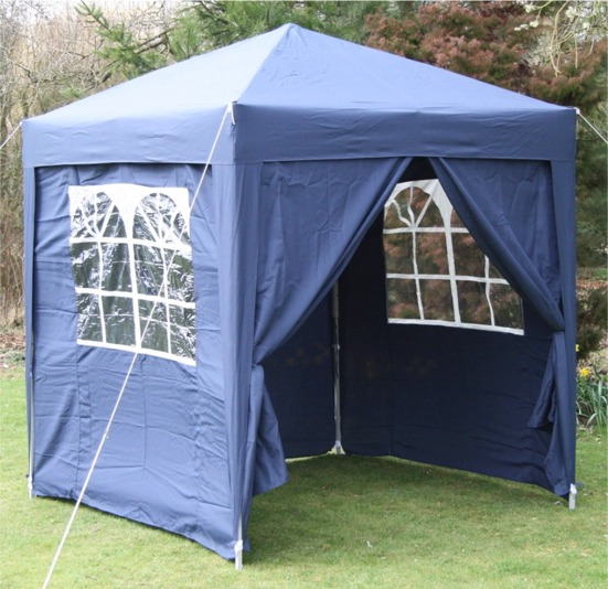 AirWave 2x2mtr FULLY WATERPROOF Pop Up Gazebo 4 Side