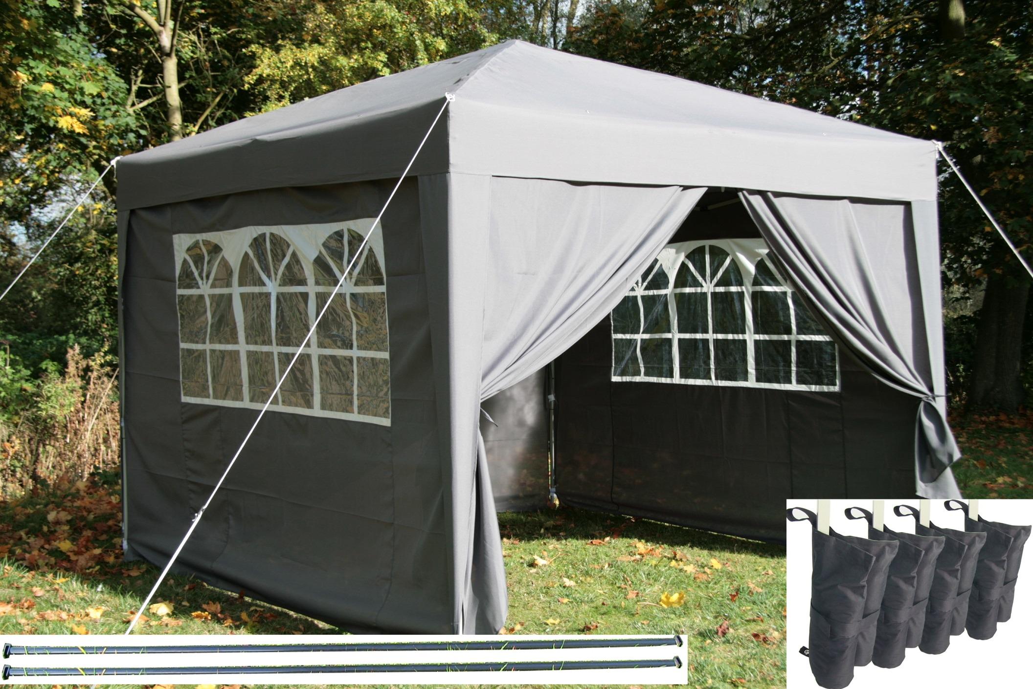 airwave 3x3m pop up gazebo waterproof garden gazebo 2. Black Bedroom Furniture Sets. Home Design Ideas