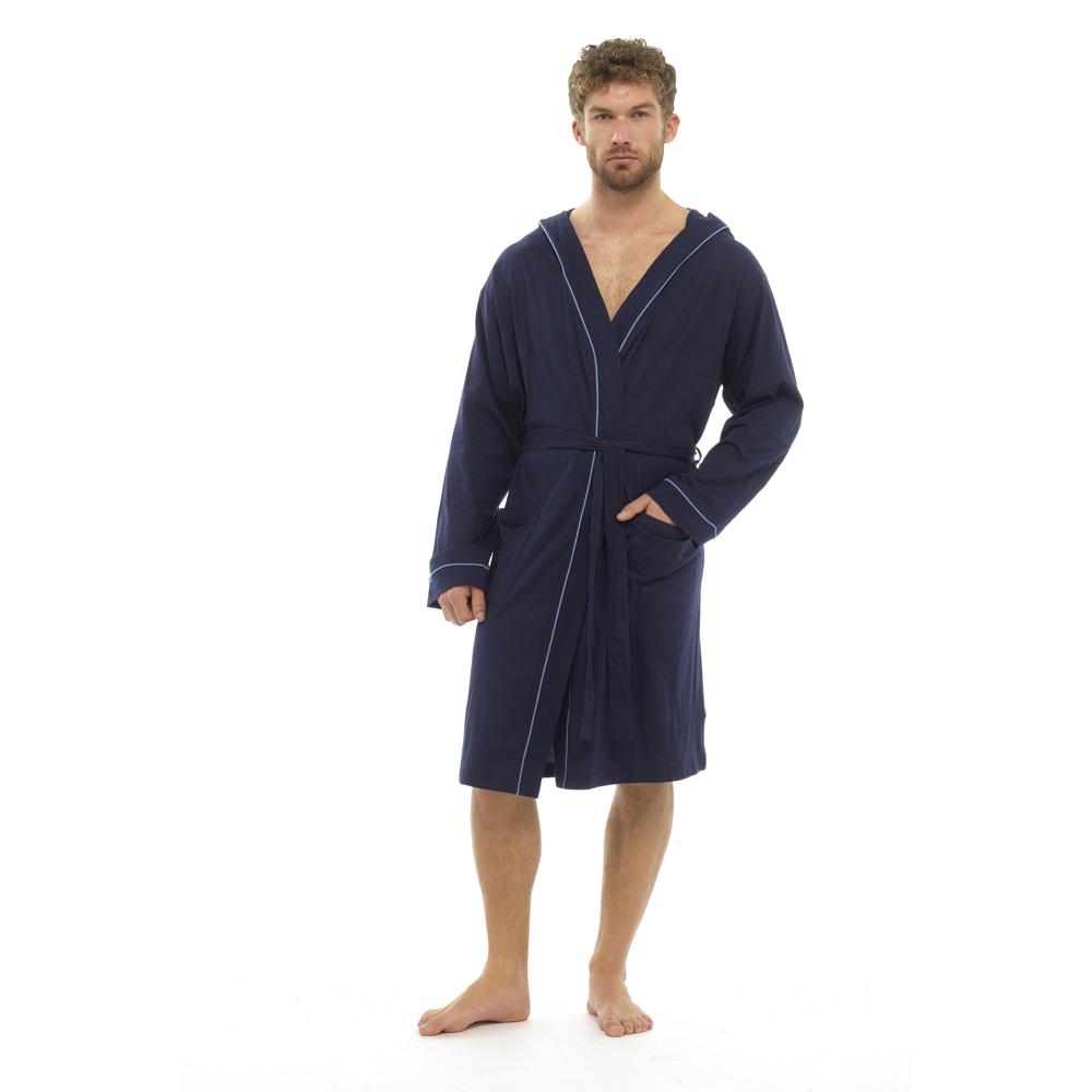 Foxbury homme Peignoir design classique Peigné Jersey De Coton Peignoir homme 9ab2df
