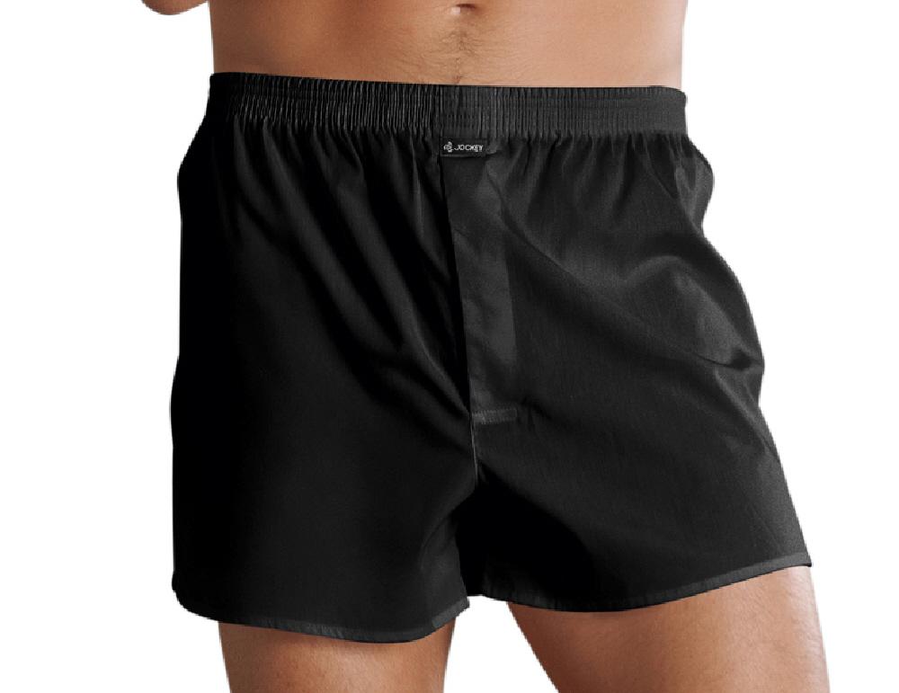 Jockey Da Uomo Cotone Tessuto Boxer Corto Biancheria Intima 314000