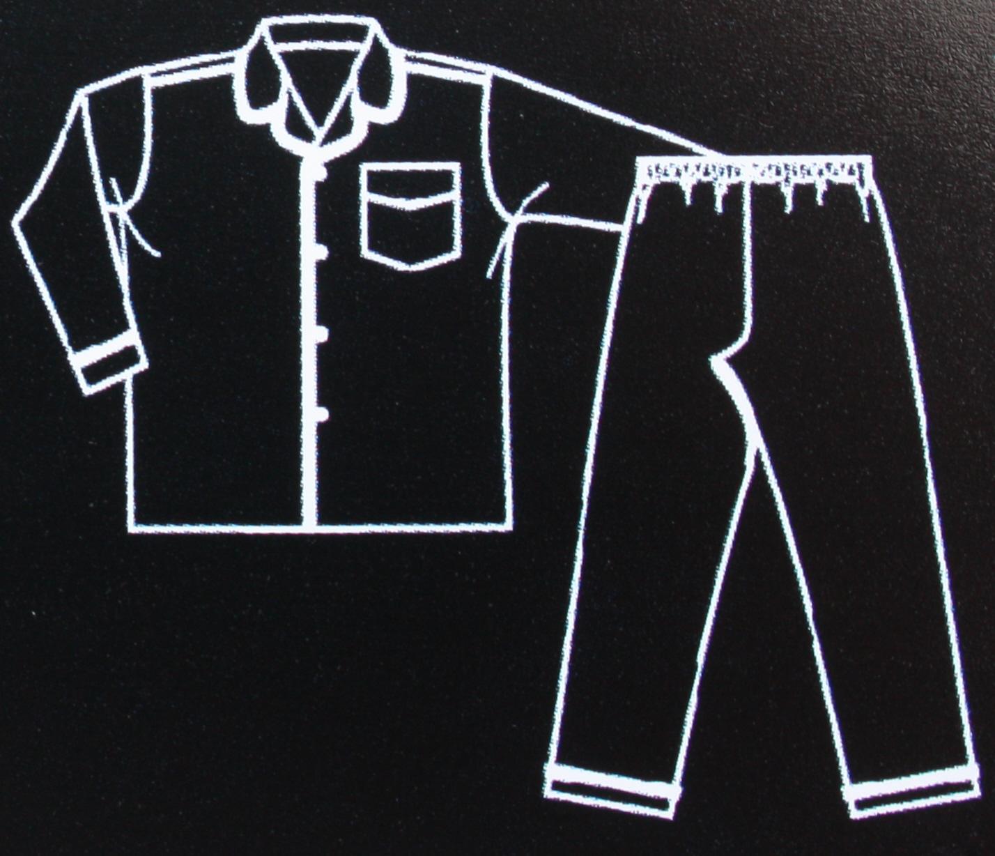 2 Pack Mens Champion Paisley Warm Brushed Cotton Pyjama nightwear lounge wear