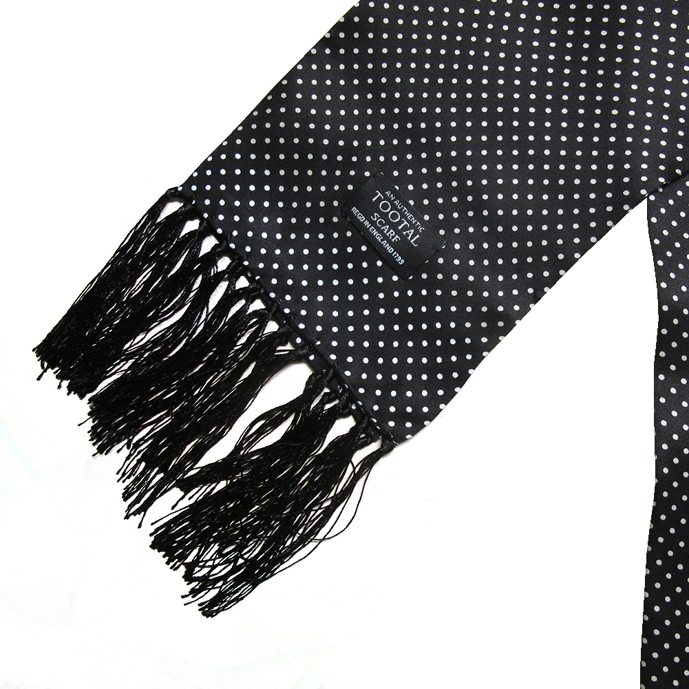 Mens-Tootal-Vintage-60s-Mod-100-Silk-Fringed-Scarf thumbnail 3