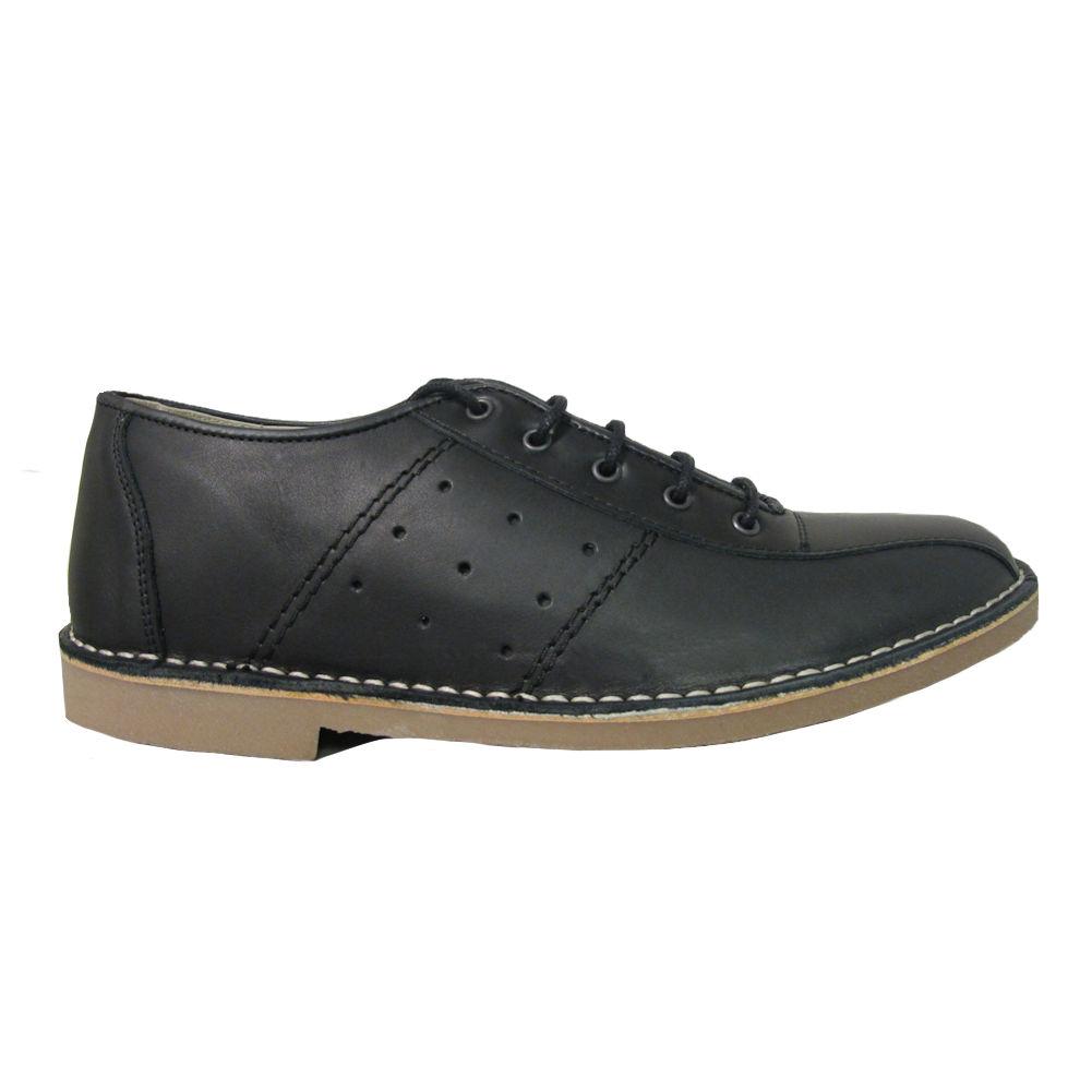 b7c6274f4327e Details about Mens IKON Original Marriott Mod 60s 70s Leather Bowling Shoe
