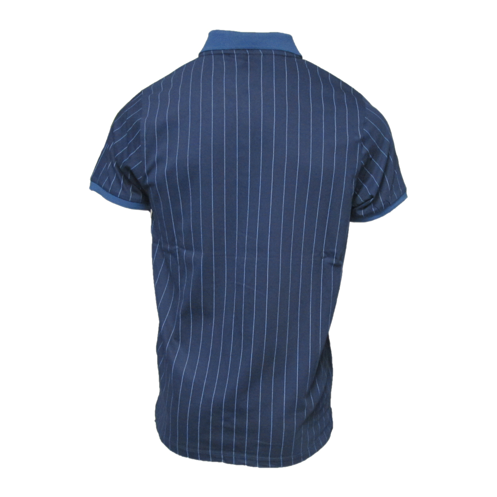42db0a350c Mens Fila Vintage White Line BB1 Stripe Tennis Polo Shirt | eBay