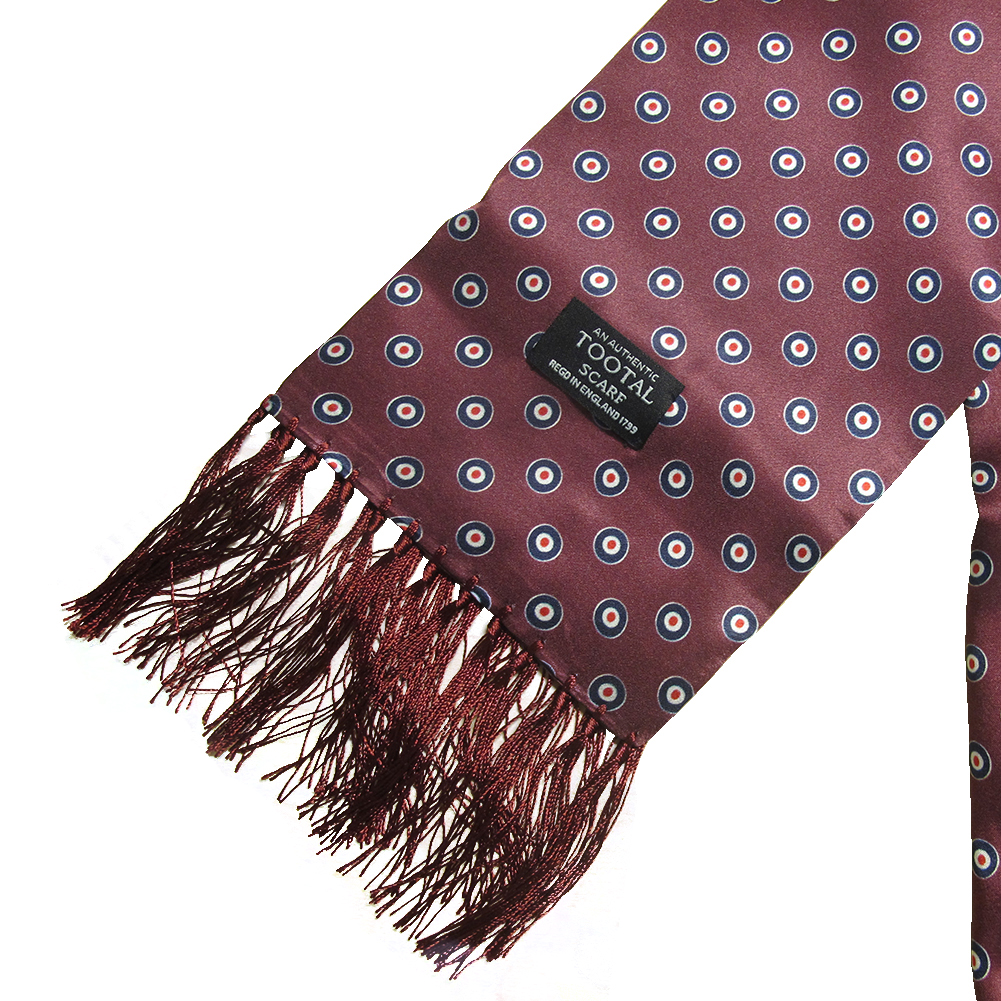 Mens-Tootal-Vintage-60s-Mod-100-Silk-Fringed-Scarf thumbnail 11