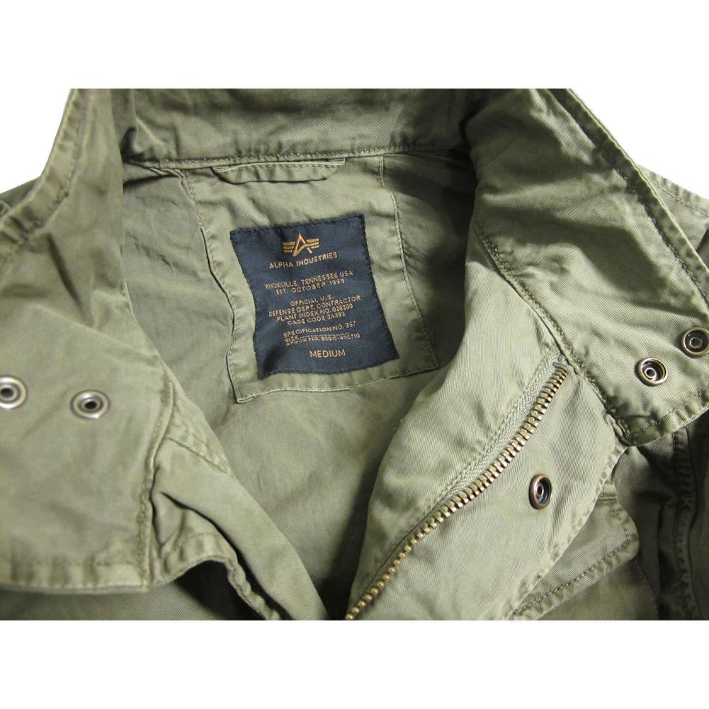 ec69c4b0f40 Alpha Industries Mens Huntington M-65 Style Field Jacket