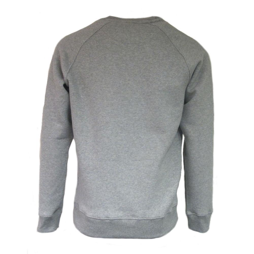 7b00bd2f48b6 Mens Fila Vintage White Line Filippo Grey Marl Retro Crew Sweatshirt ...