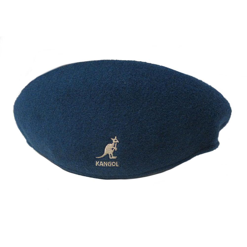 Kangol Flat Cap Style 504 With Kangaroo Logo  234123f51d6