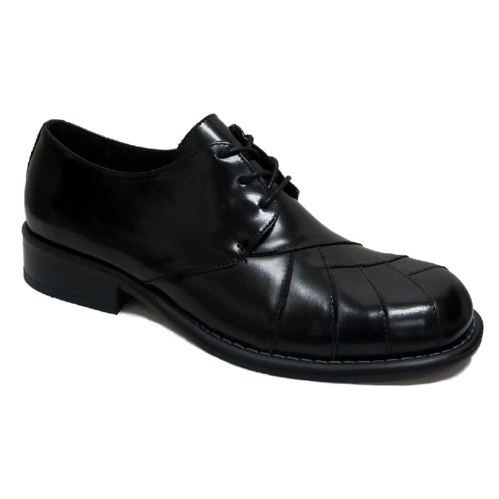 c61eaae7691 Mens Ikon Original Black Zodiac Mod Northern Soul 60 s 70 s Leather ...