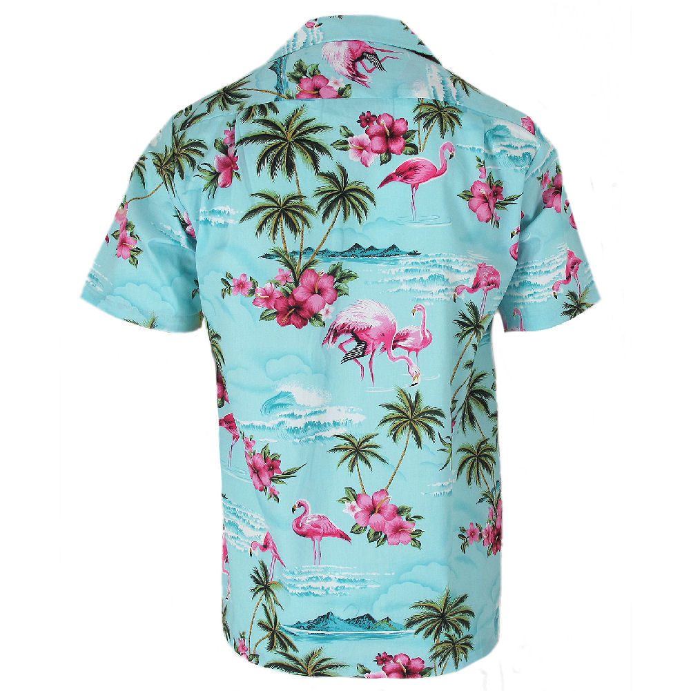 432b7ac06 Robert J. Clancey Blue Flamingo Rockabilly Authentic Hawaiian Shirt S-4xl  XL. About this product. Picture 1 of 4; Picture 2 of 4; Picture 3 of 4 ...