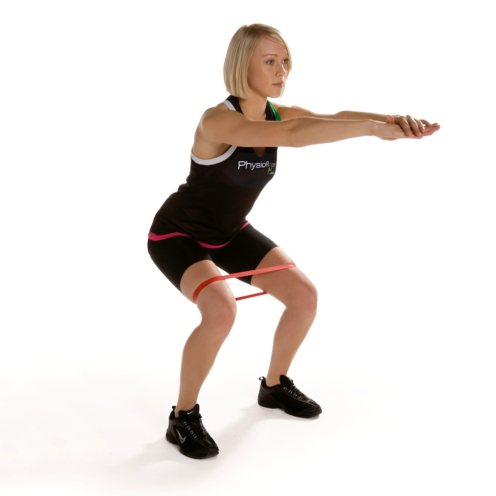 PhysioRoom Resistance Band Exercise Thigh Loop Medium