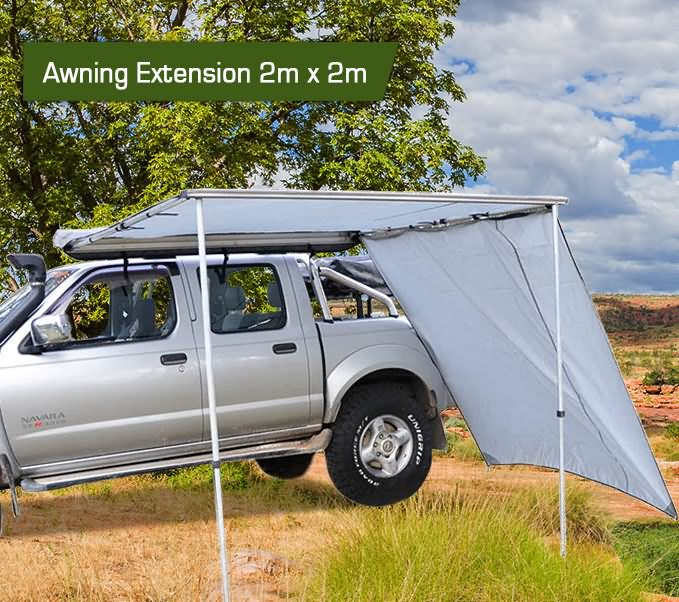 2m X 2m Over Sill Awning Operator Extension 4wd ...