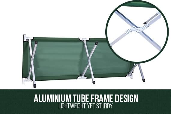 Outbaxcamping 1st Scenario NEW Folding Camping Bed