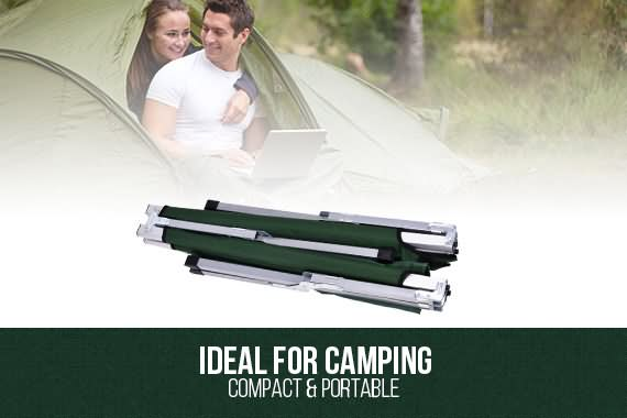 Outbaxcamping 2nd Scenario NEW Folding Camping Bed