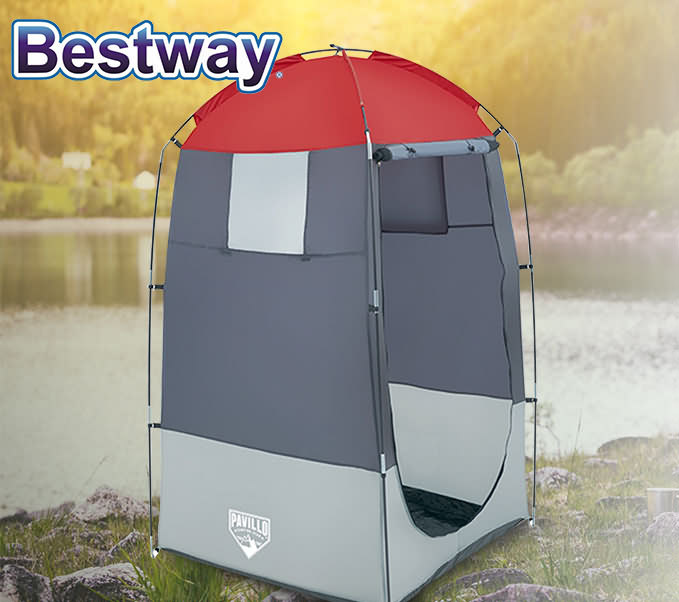 Camping Australia Store: BESTWAY CAMPING TOILET SHOWER TENT PORTABLE CHANGE ROOM