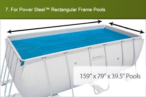 Bestway Swimming Pool Cover 375 X 175cm Fits 56 Outbaxcamping