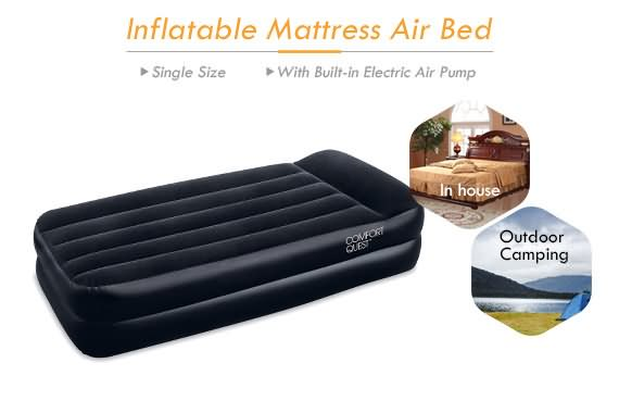 Outbaxcamping 3rd Scenario Bestway Luxury Air Bed