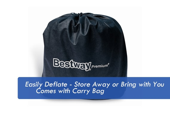 Outbaxcamping 6th Scenario Bestway Sleepzone Premium Raised