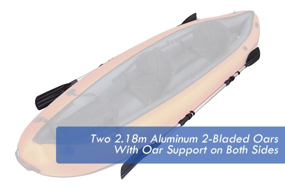 Outbaxcamping 4th Scenario Bestway Inflatable Sit-On Kayak