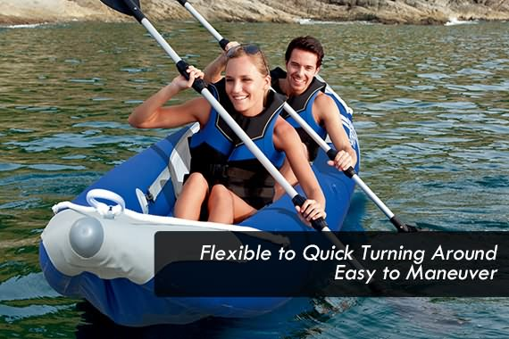 Outbaxcamping 6th Scenario Bestway Inflatable Sit-On Kayak