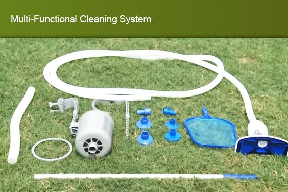 New Bestway Swimming Pool Deluxe Maintenance Kit With