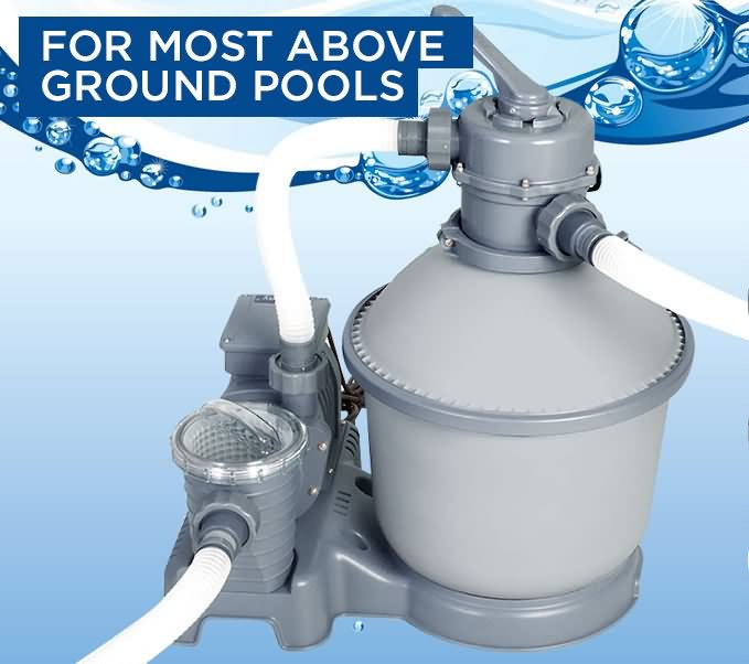 Bestway Flowclear Sand Filter 58400 Pump For Above Ground Swimming Pools Ebay
