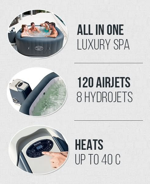 Lay Z Spa Hawaii Ultimate Luxury In One 12