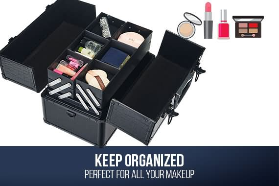 Outbaxcamping 2nd Scenario Portable Makeup Case Professional