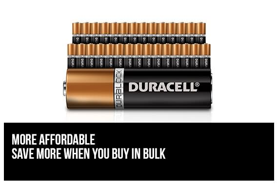 Outbaxcamping 3rd Scenario Duracell AAA Batteries x