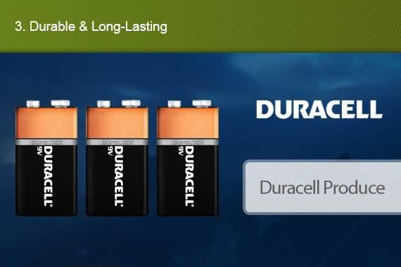 Outbaxcamping 3rd Scenario Genuine Duracell X6 9V