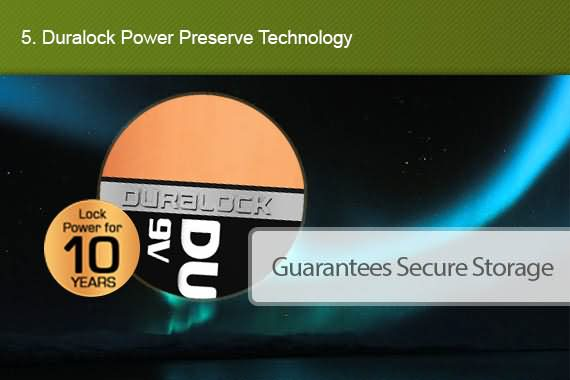 Outbaxcamping 5th Scenario Genuine Duracell X6 9V
