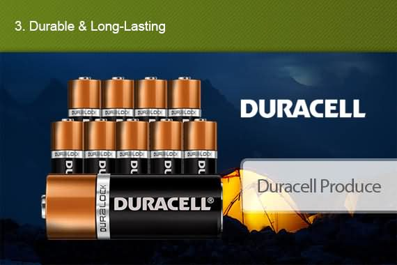 Outbaxcamping 3rd Scenario Genuine Duracell D2 X2