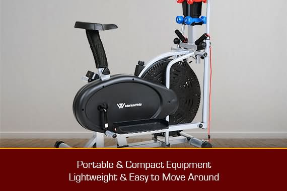Outbaxcamping 3rd Scenario Workout Wiz 5in1 Elliptical