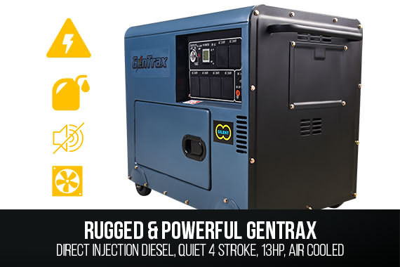 Outbaxcamping 1st Scenario New Gentrax 8.4Kva Rated