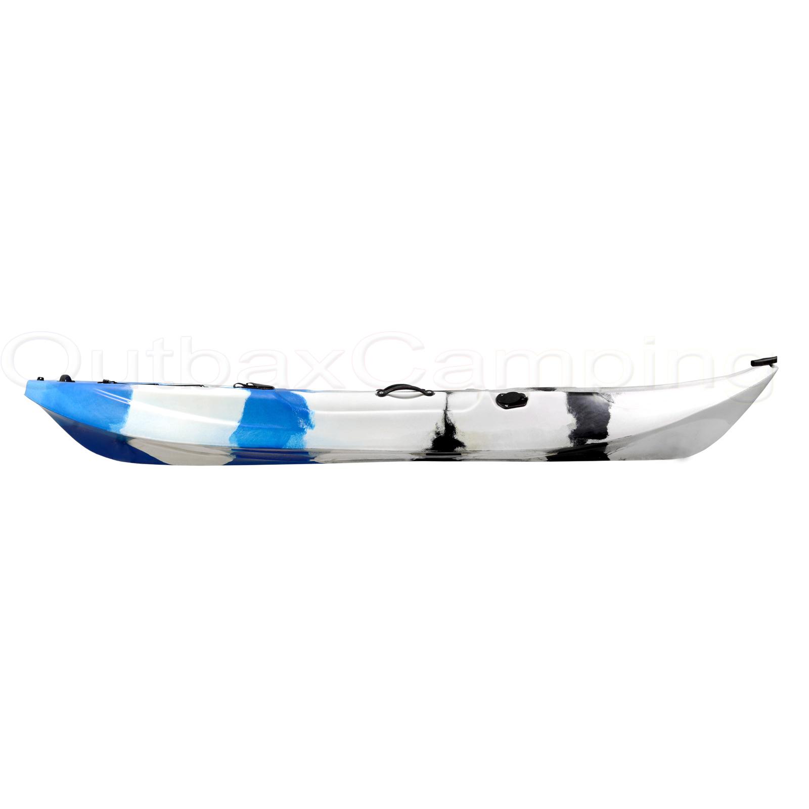 Single Fishing Kayak SIT ON 5 ROD Holders Ocean SEA Canoe ...