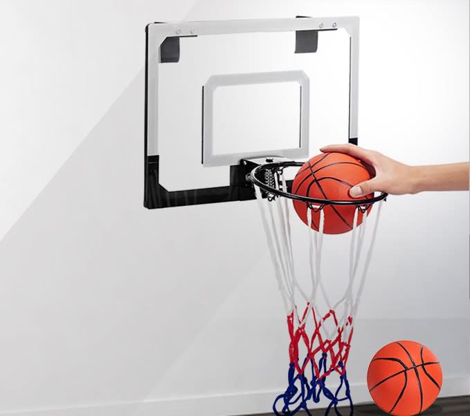 hoop indoor basketball kit set hoop door mounted kid bedroom ebay