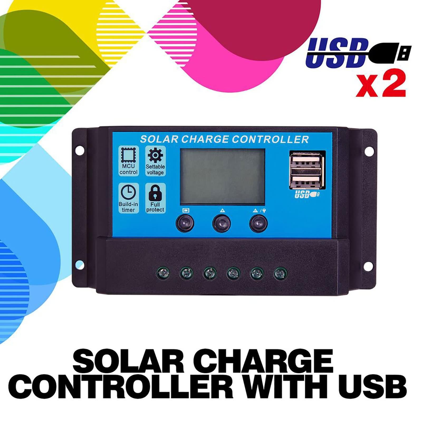 160W-Folding-Solar-Panel-Kit-12v-Mono-Caravan-Camping-Power-Charging-Battery-USB