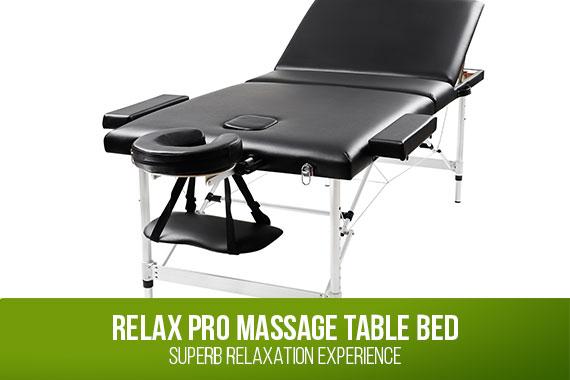 Outbaxcamping 1st Scenario Relaxpro Portable Aluminium Massage