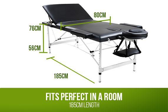 Outbaxcamping 3rd Scenario Relaxpro Portable Aluminium Massage