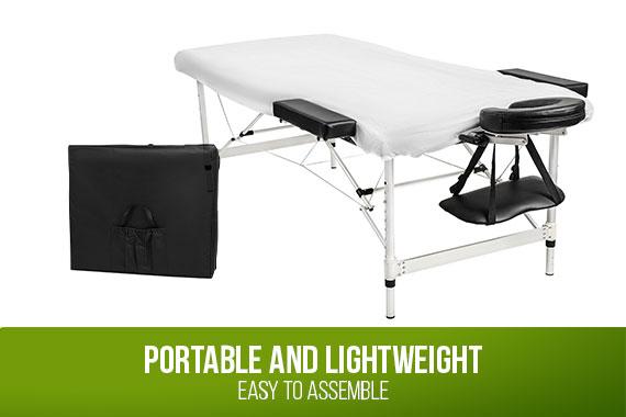 Outbaxcamping 4th Scenario Relaxpro Portable Aluminium Massage