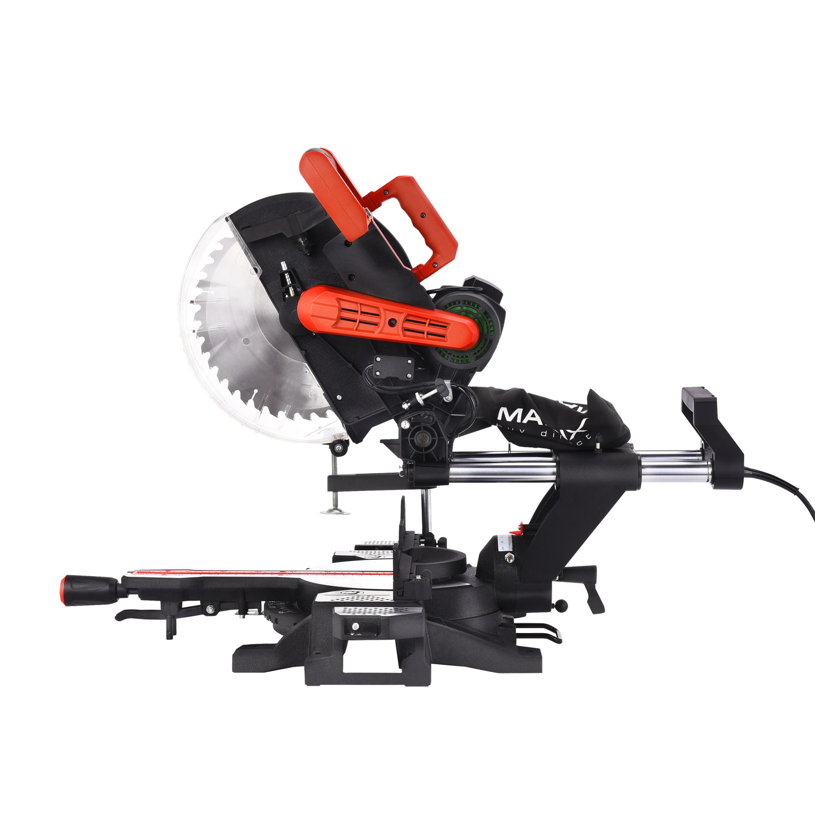 New-Matrix-305MM-12-034-Sliding-Compound-Mitre-Saw-Belt-Driven-Drop-Saw-Cut-Off-Saw