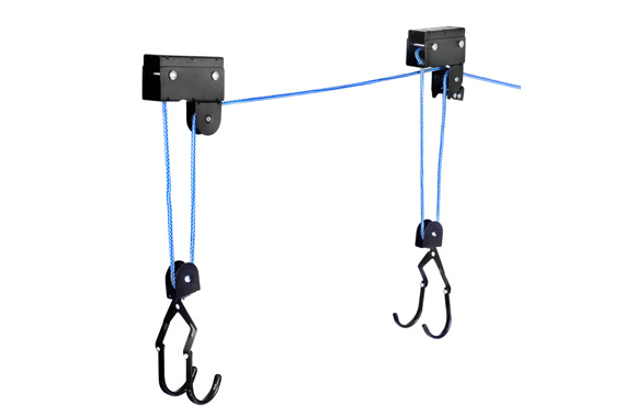 Rope Pulley System : Kayak double rope pulley system aluminium hoist hook
