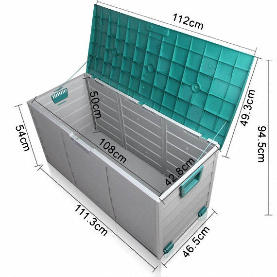 Outbaxcamping 2nd Scenario 290L Plastic Outdoor Storage