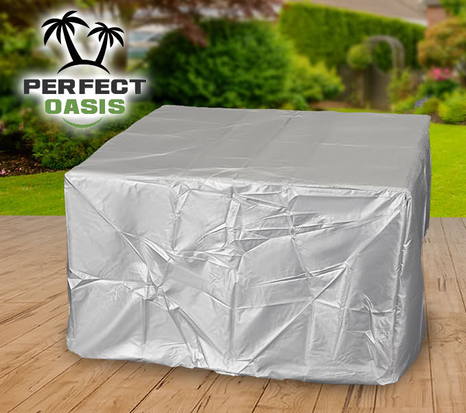 9pcs 8 Seater Patio Garden Furniture Sofa Cover Set Waterproof UV Resistant P