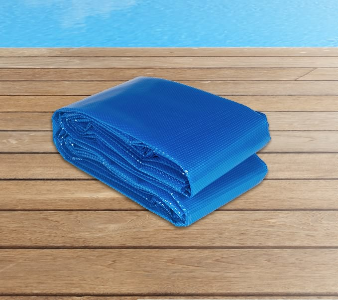 New Solar Swimming Pool Cover 8m X Outdoor Bubble Blanket Heat Absorption Ebay