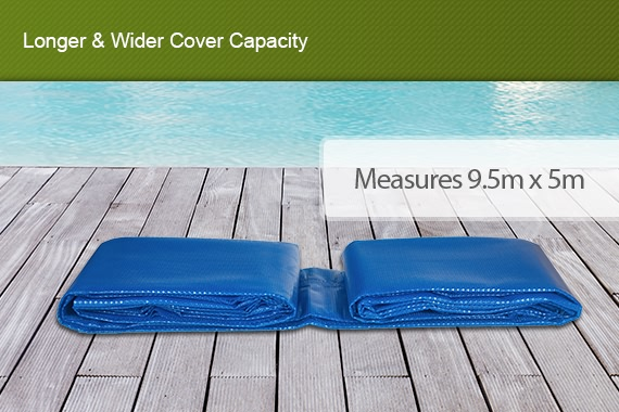 Outbaxcamping 1st Scenario Solar Swimming Pool Cover