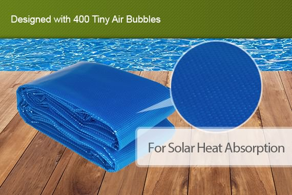 Outbaxcamping 2nd Scenario Solar Swimming Pool Cover