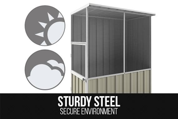 Outbaxcamping 1st Scenario NEW Shed Pet House