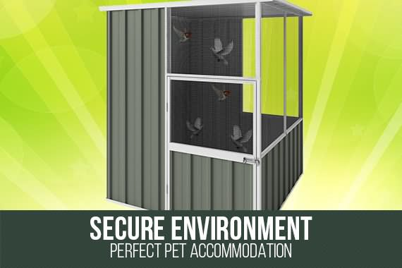 Outbaxcamping 2nd Scenario NEW Shed Pet House