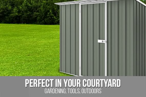 Outbaxcamping 6th Scenario NEW Shed Skillion ROOF